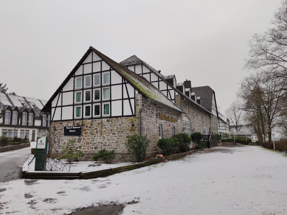 Gut Funkenhof im Winter